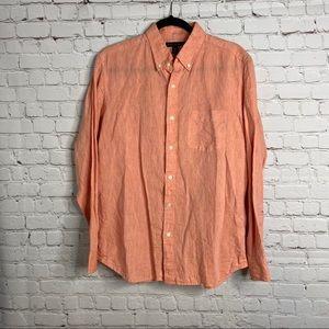 3/$25 Banana Republic Button Front Shirt Linen